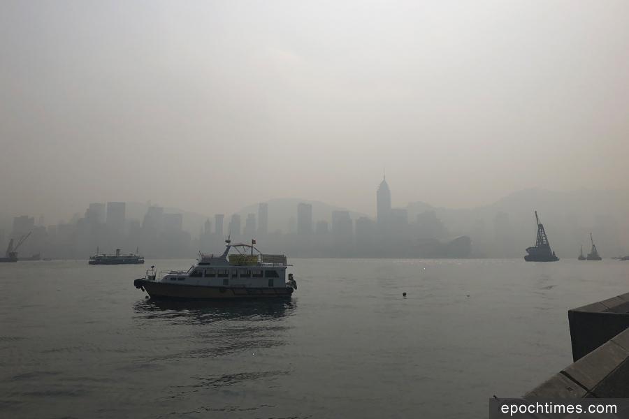 本港今日空氣污染嚴重 東涌指數爆錶