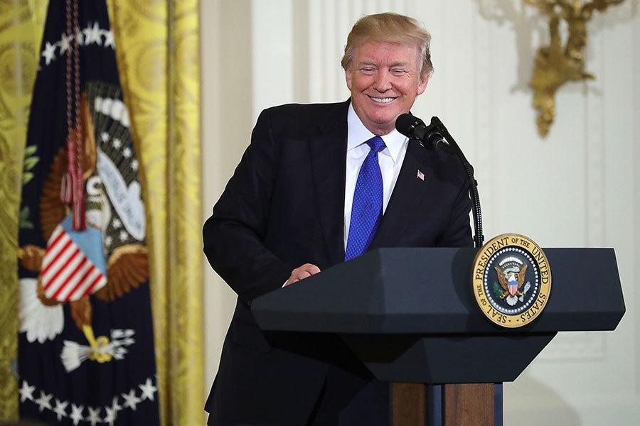特朗普:願意為「通俄門」宣誓作證