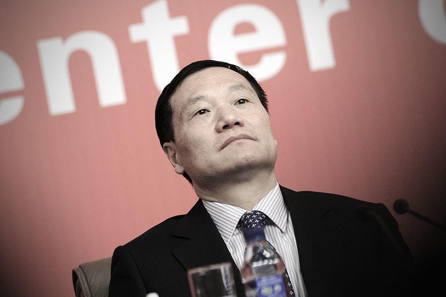 陸證監會前主席肖鋼被免職後 兩年來首「露面」