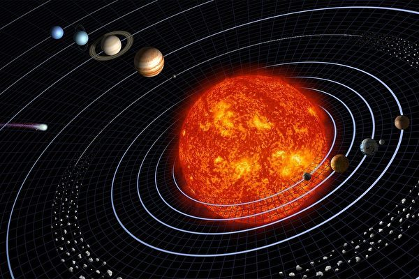 太陽正在變輕 行星越來越遠離太陽