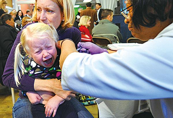 十年來最嚴重流感襲美