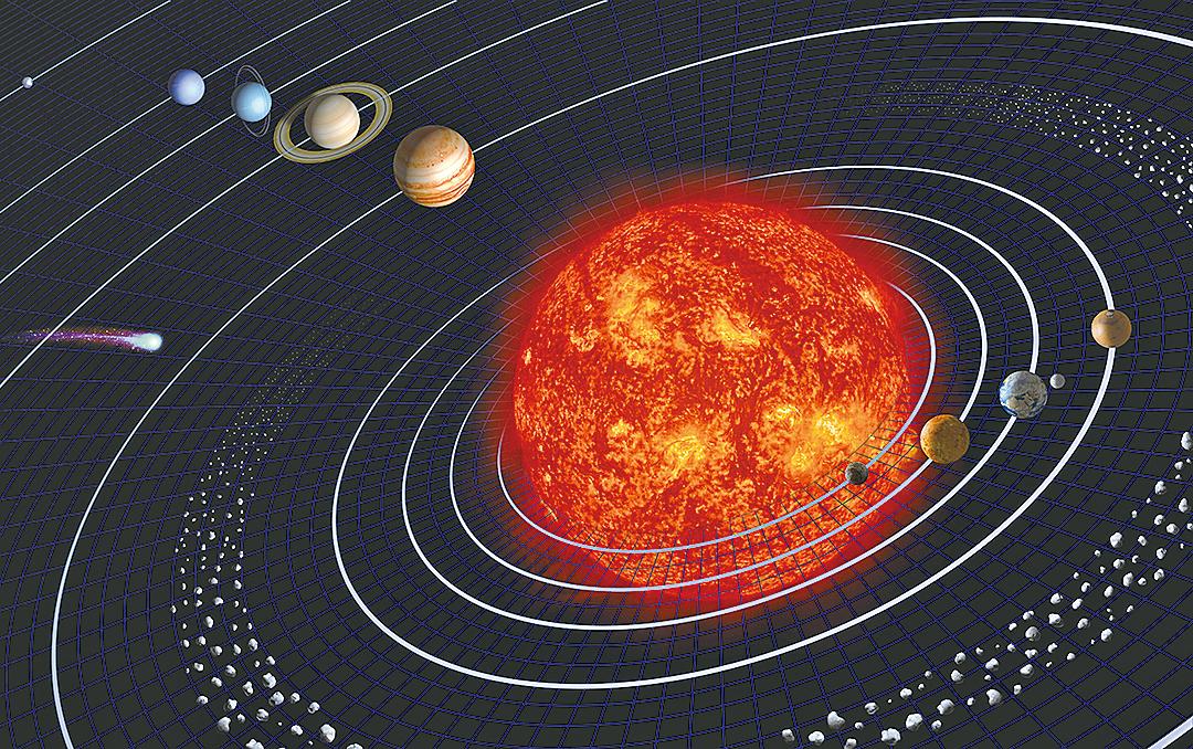 太陽變輕 行星在漸漸遠離