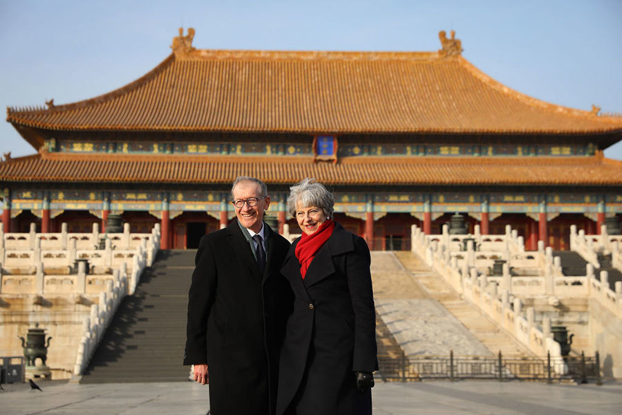 英首相訪華 中英對「一帶一路」各說各話