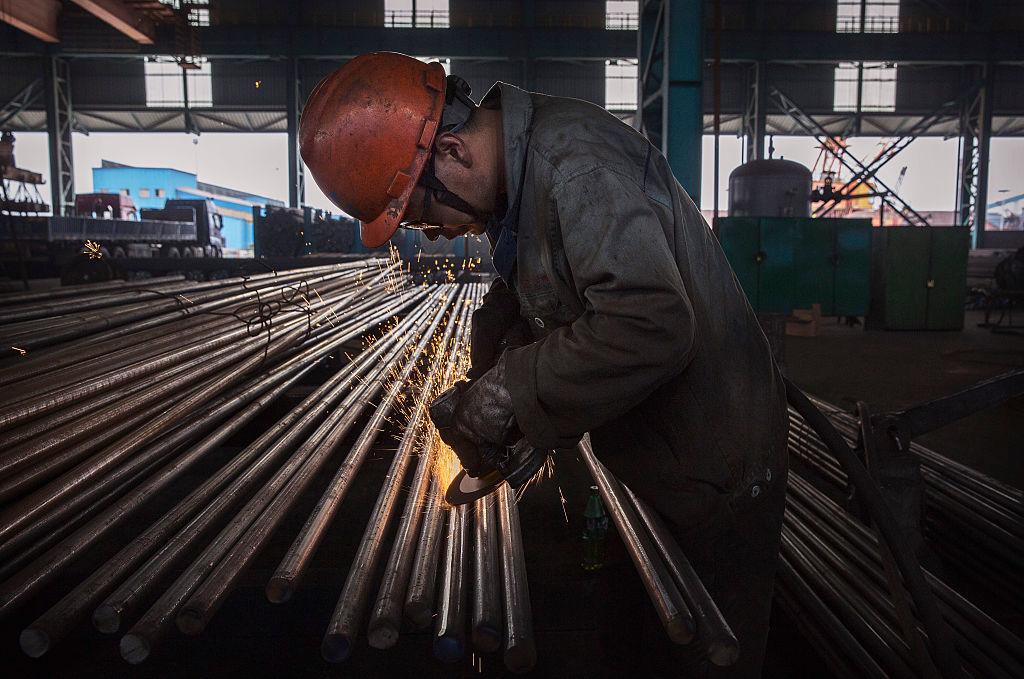 美鋼鐵業讚特朗普關稅令 不滿中國鋼材經韓入美