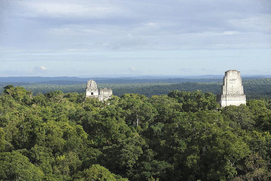 瑪雅古城藏身中美洲叢林 人口規模驚呆專家