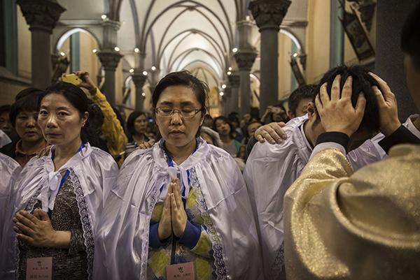 傳教廷擬承認中共任命主教