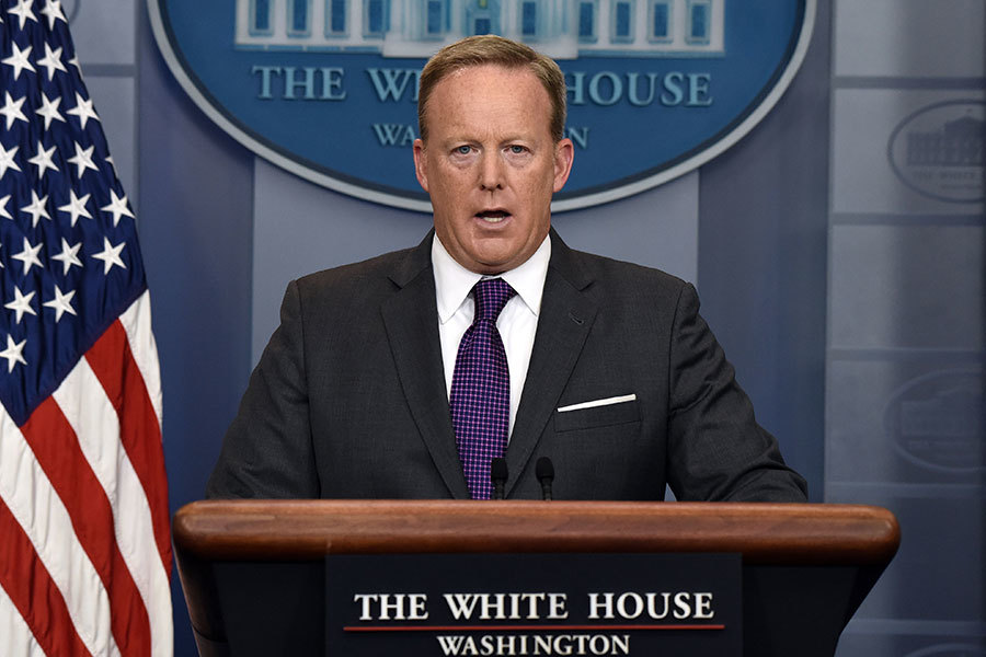 前白宮發言人斯派塞回憶特朗普當他老闆的日子