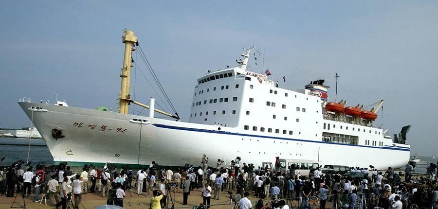北韓藝術團為何乘船抵韓? 專家:反抗制裁