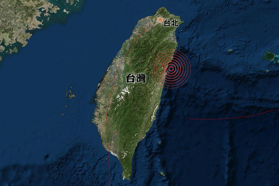 台灣花蓮再遇5.7級地震 香港有感