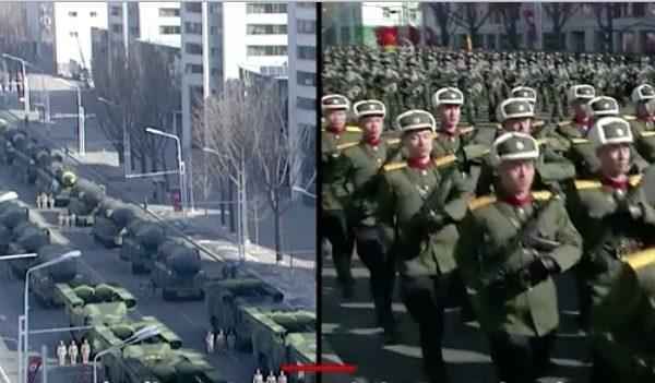 北韓閱兵的尷尬:寒冷 毆打 個矮和寫保證