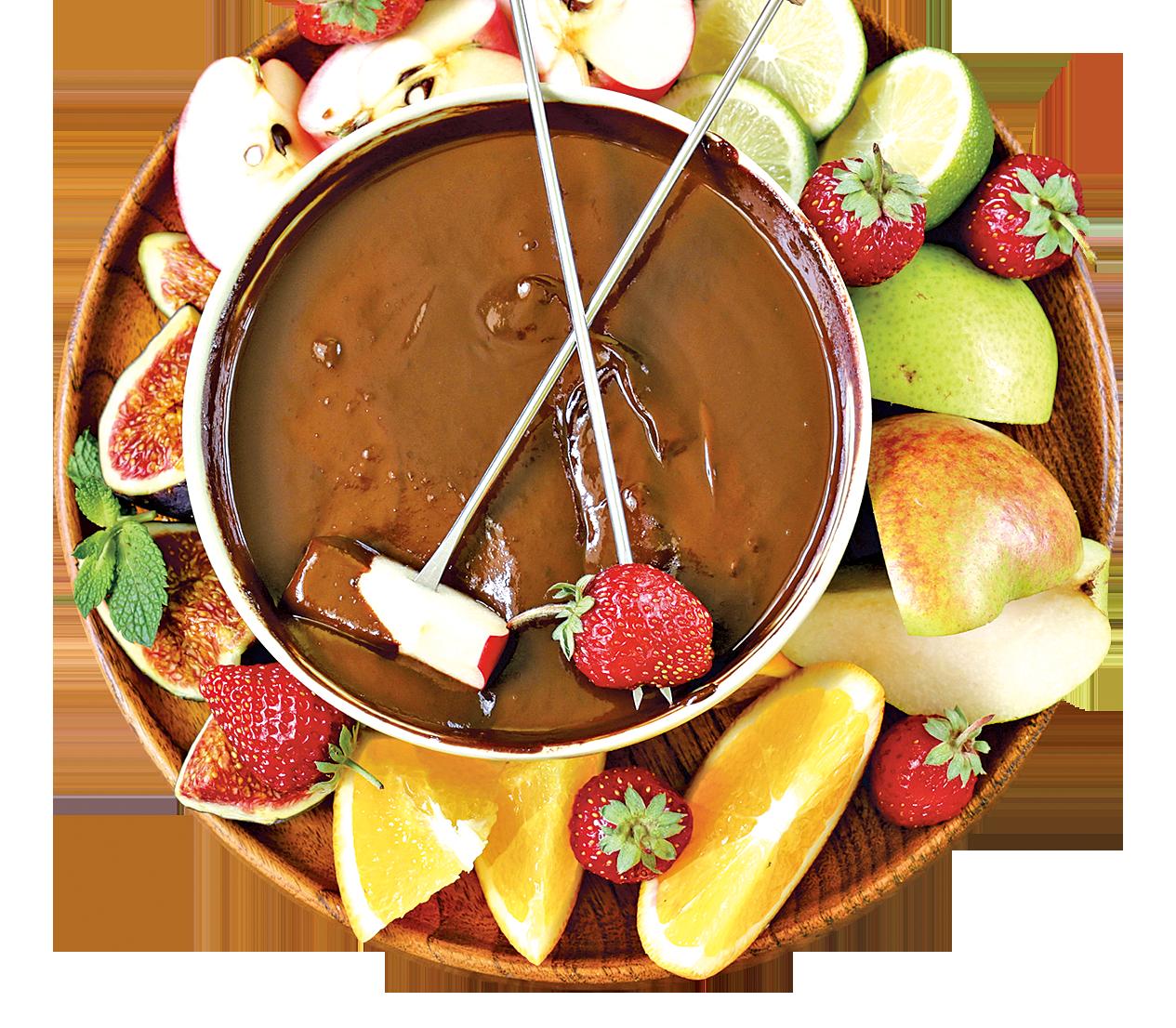 情人節應景 溫暖甜蜜的朱古力鍋