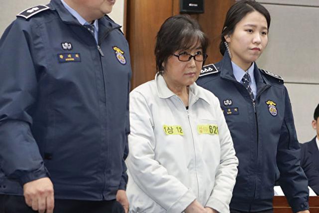 韓「干政案」崔順實獲刑20年