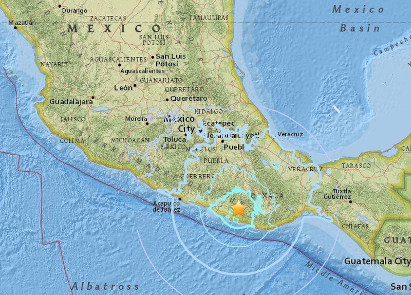 墨西哥再傳5.9級地震 民眾驚逃避難
