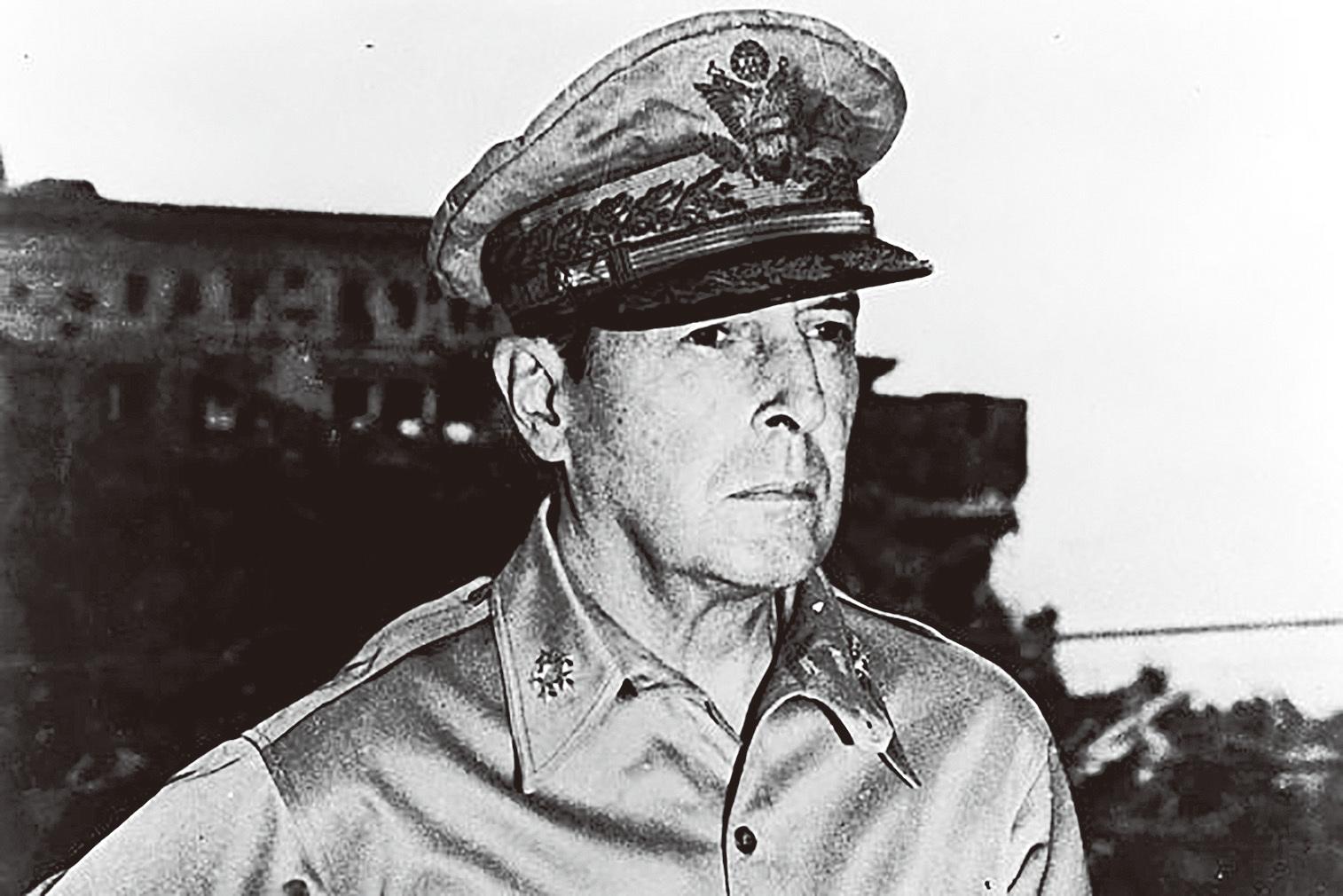 名將傳奇 二戰美國遠東軍司令 麥克阿瑟將軍