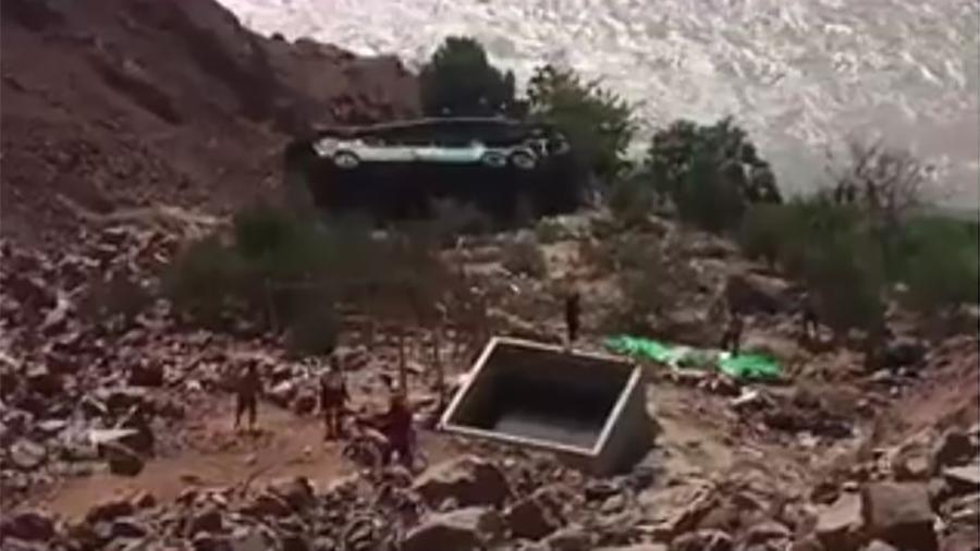 秘魯巴士墜落200米深谷 至少44死