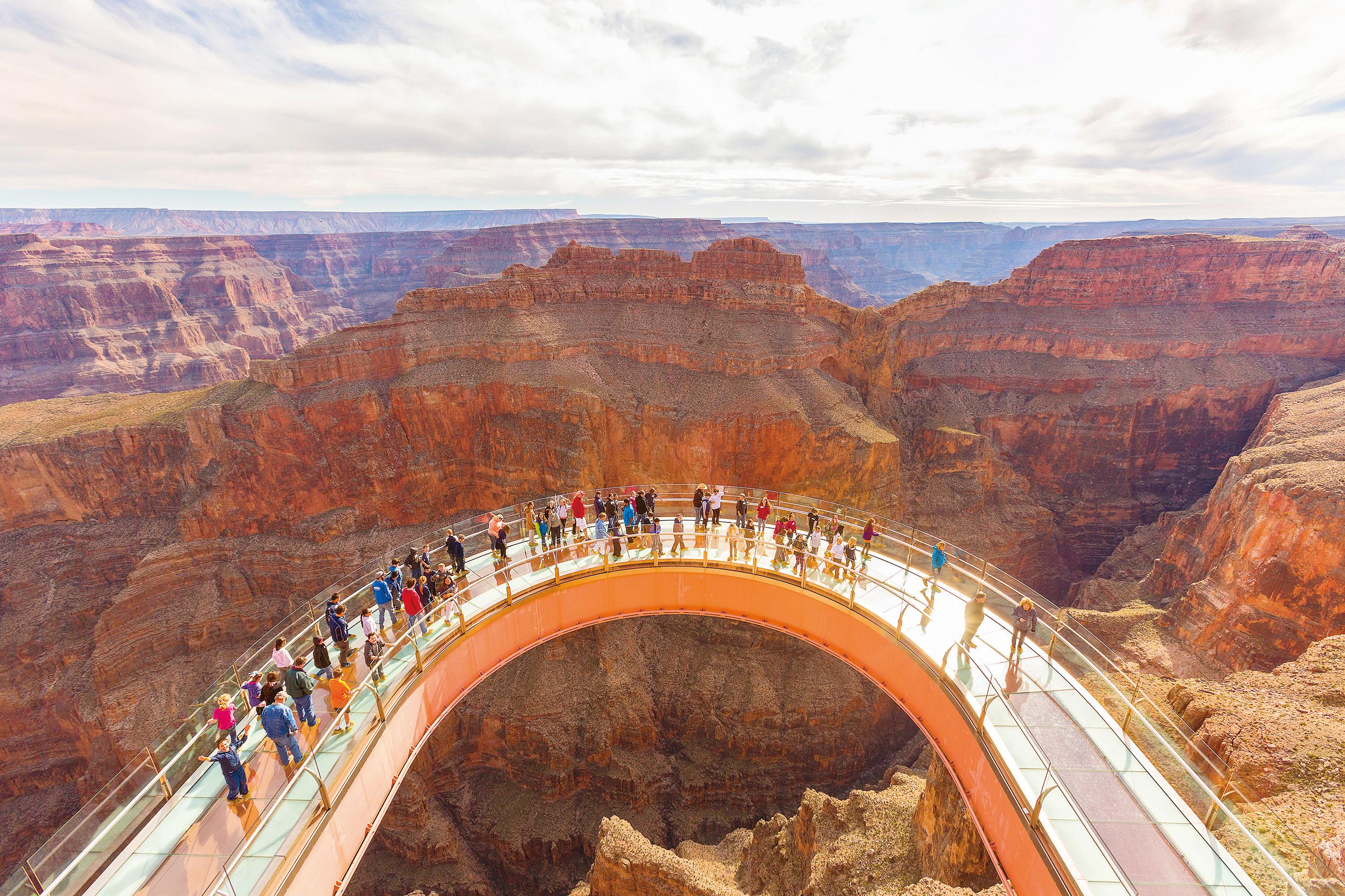 大峽谷好看又好玩 美國西大峽谷精彩探險活動