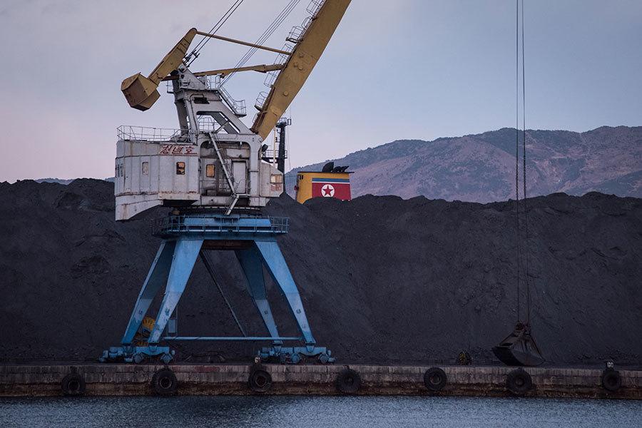中國船被曝幫北韓轉運煤炭 出口至南韓