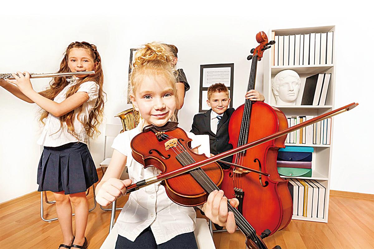 學習樂器 給孩子帶來的六大益處
