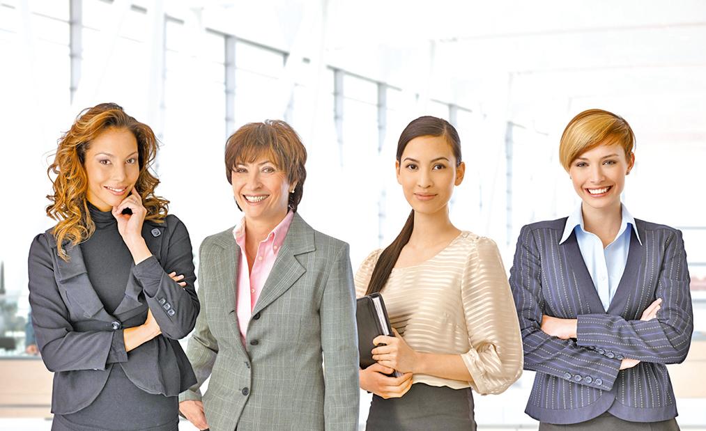 從職場著裝看女人