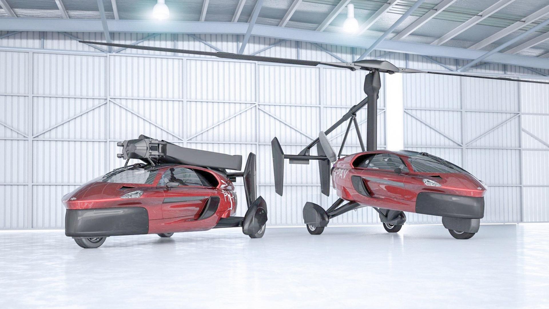 全球首款飛行汽車將量產 2019年交貨