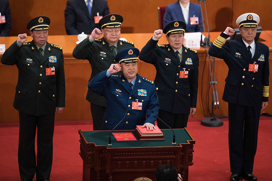 許其亮張又俠任軍委副主席 紅二代談軍隊危機