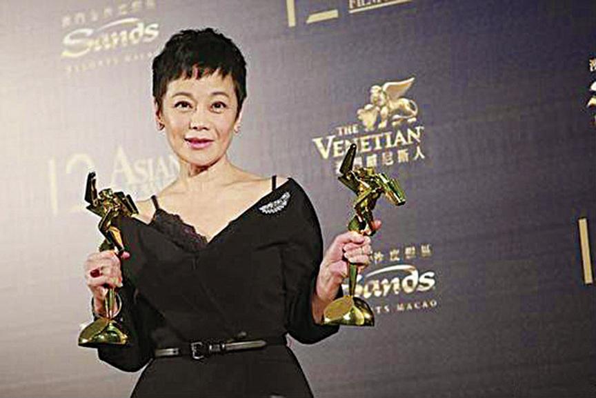 張艾嘉亞洲電影大獎封后 兼獲終身成就獎