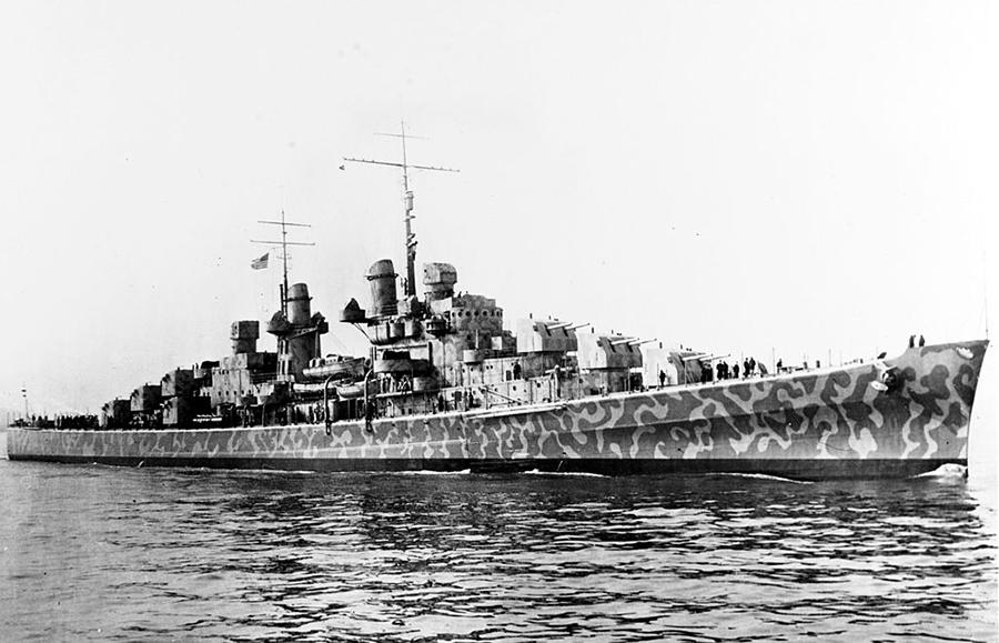 美二戰巡洋艦殘骸現海底 曾遭日本魚雷擊沉