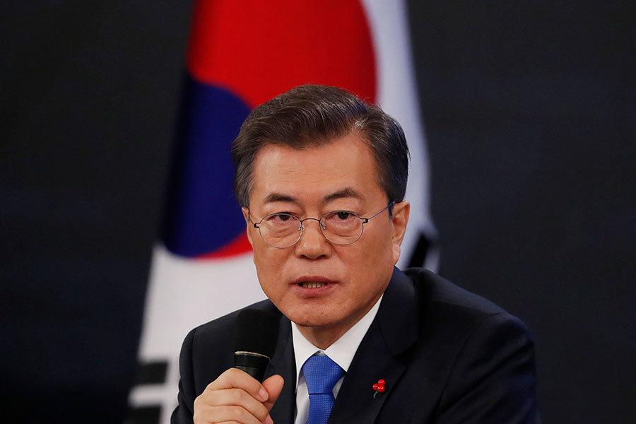 文在寅:兩個首腦會或促成美韓朝三方峰會