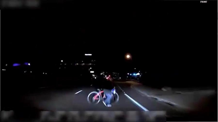 優步自駕車撞死人 警方公佈車禍片段