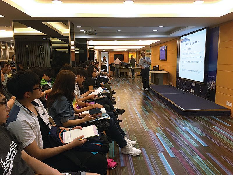 5月6日,台灣海外聯合招生委員會來港介紹台灣科技型大學。(主辦單位提供)