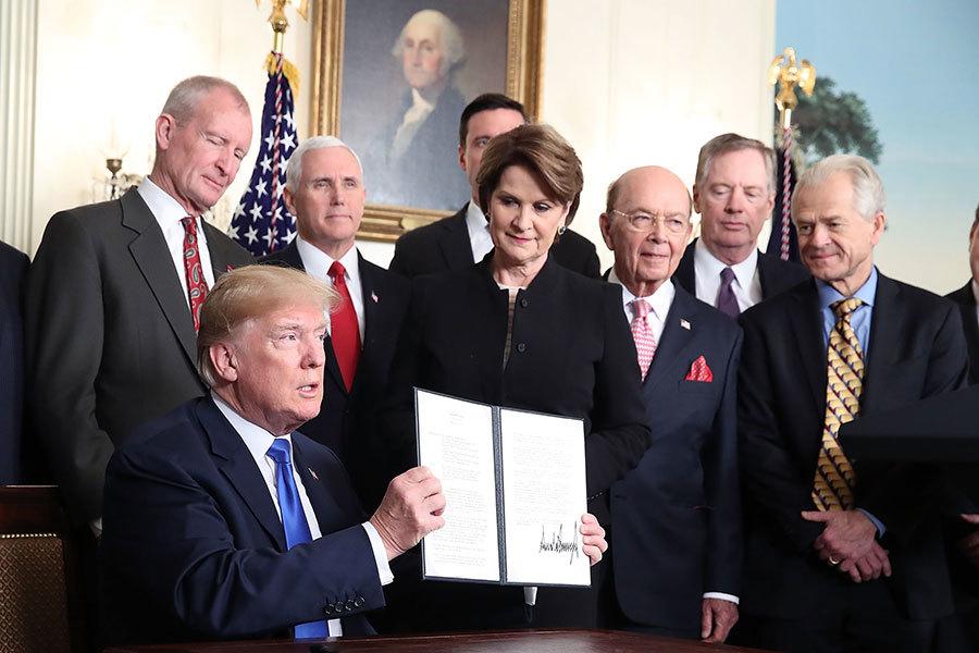 特朗普厭倦被利用 白宮:將反擊中共課稅