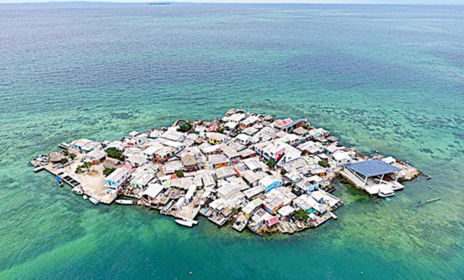 全球人口密度最大 哥倫比亞小島被視為烏托邦