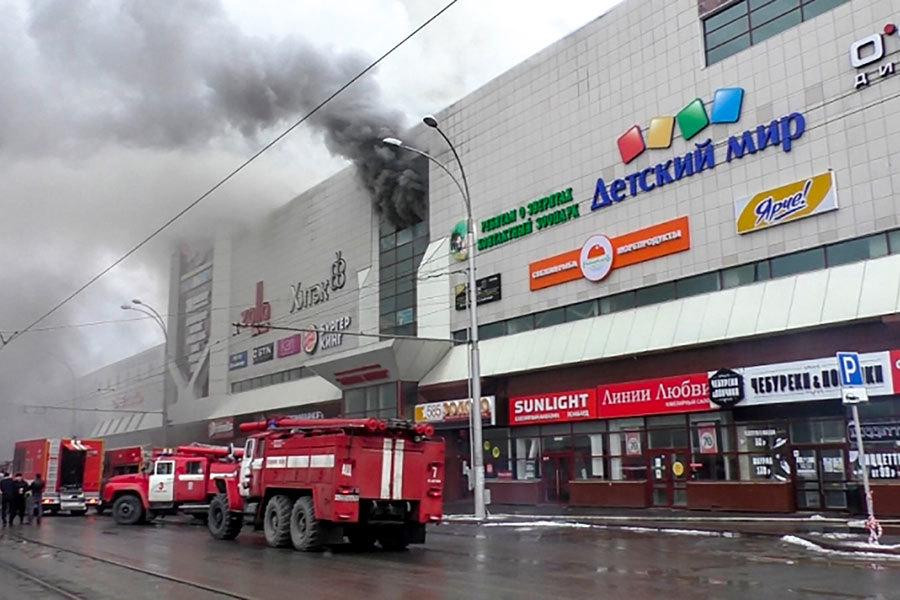 【更新】俄國商場大火至少64人 數十人傷