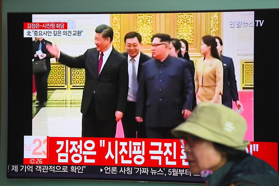 朝媒稱習近平獲邀請將訪問北韓