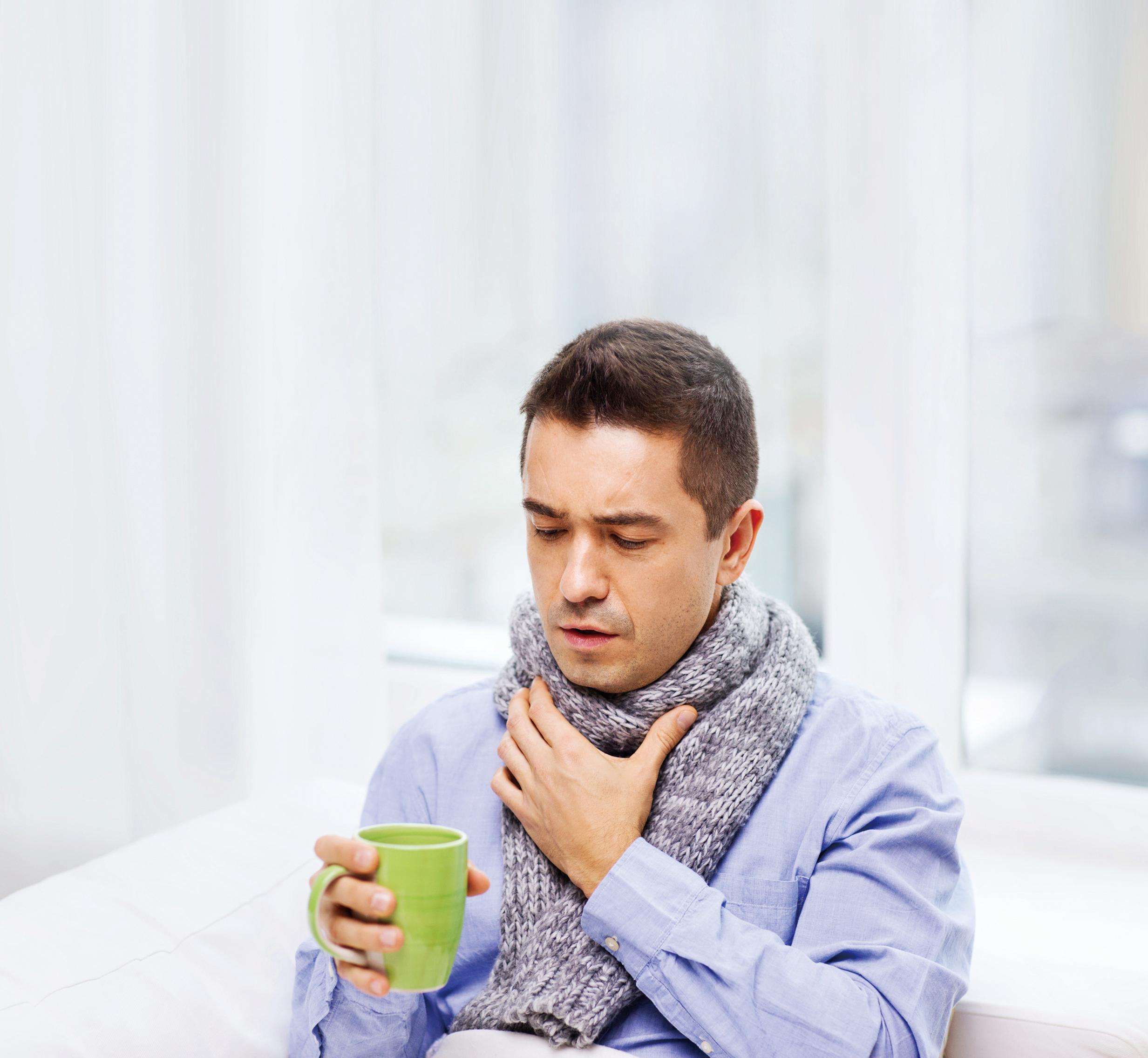 8種好方法有效緩解咽喉痛
