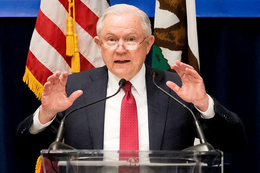 美司法部宣佈對非法入境「零容忍」政策