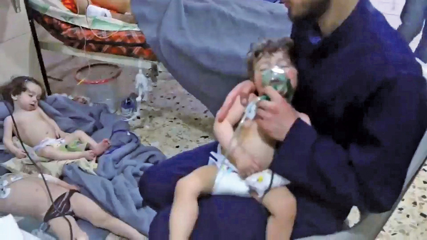 多國撻伐敘利亞化武攻擊平民