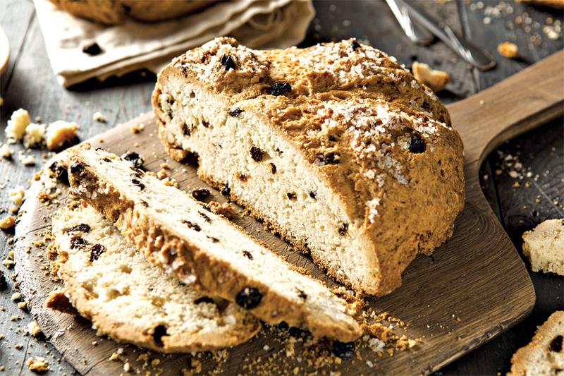 蘇打麵包是一種製作過程相當快速的麵包。圖/ Fotolia