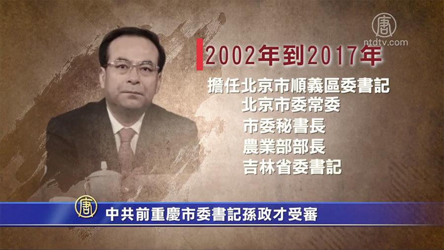 孫政才「泄露組織秘密」罪名遭刪引猜測
