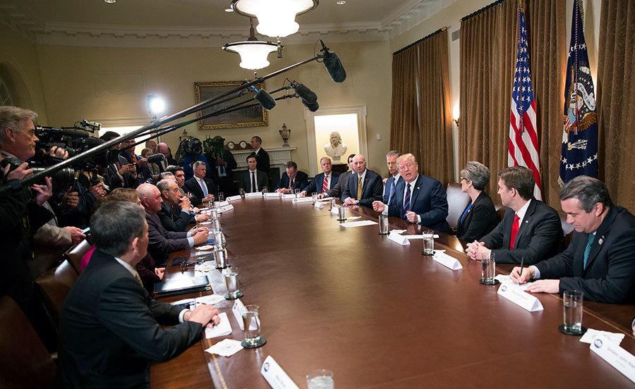 談中美貿易及NAFTA 特朗普透露兩件事