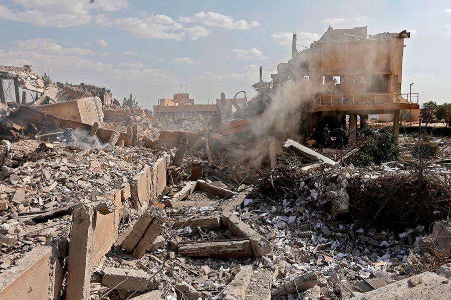 美國打擊敘利亞 分析:向北韓發出強烈警告