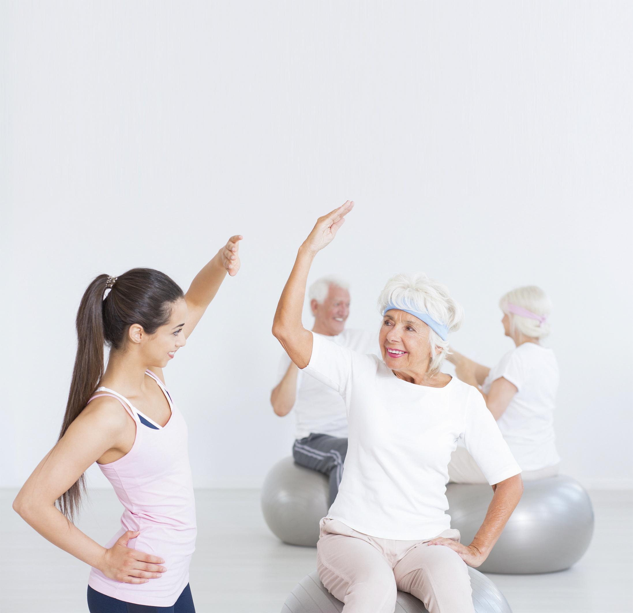老人要自強 多多運動•不當病老人
