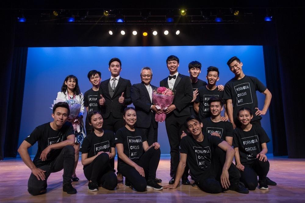 【圖片新聞】台灣馬戲團到港表演