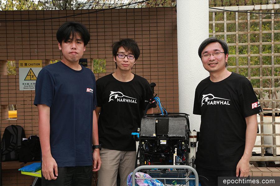 水底機械人挑戰賽 本港大專院校學生心得分享
