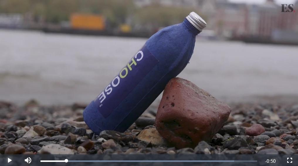 英男研發出防水紙瓶 三周內可分解