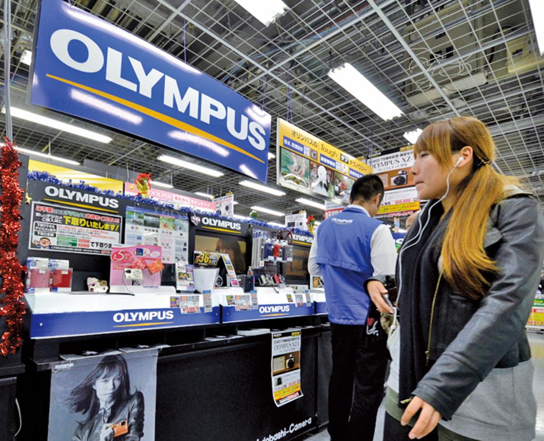 日本光學巨頭奧林巴斯關閉中國工廠