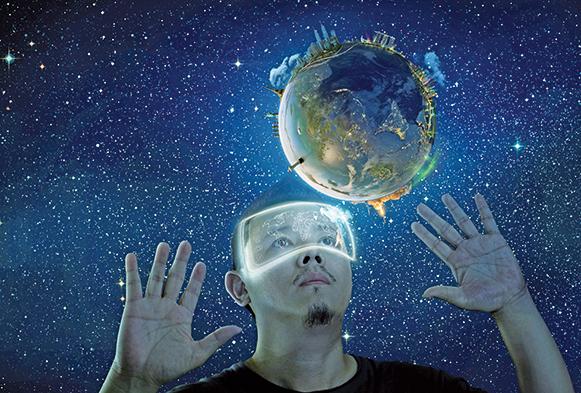 虛擬現實 在家裏帶你暢遊太空