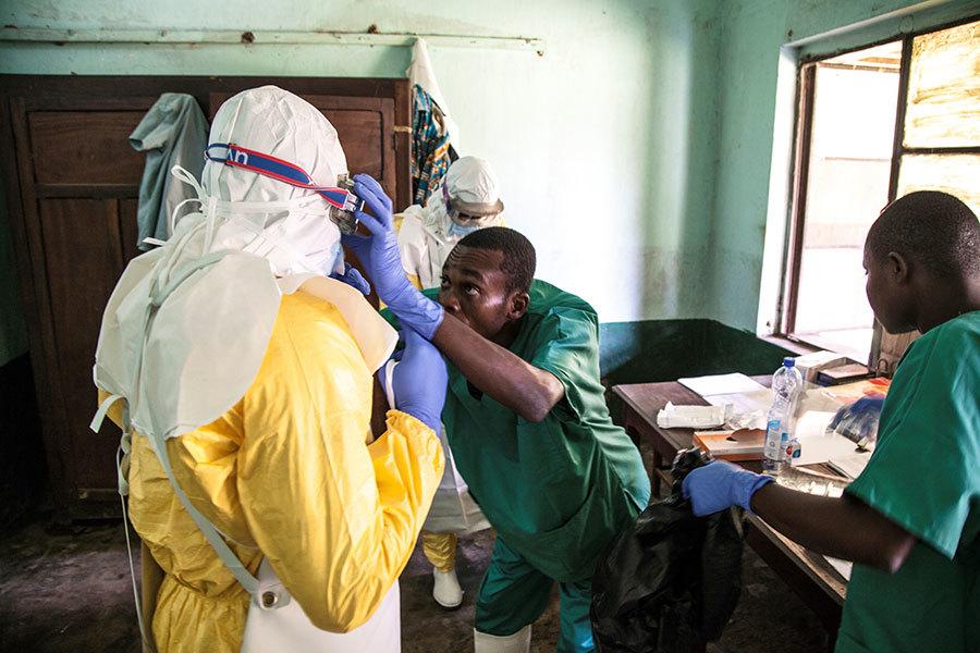 剛果伊波拉蔓延至大城市 風險級別「非常高」