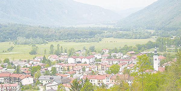 斯洛文尼亞的科巴里德鎮。(Žiga / 維基百科)