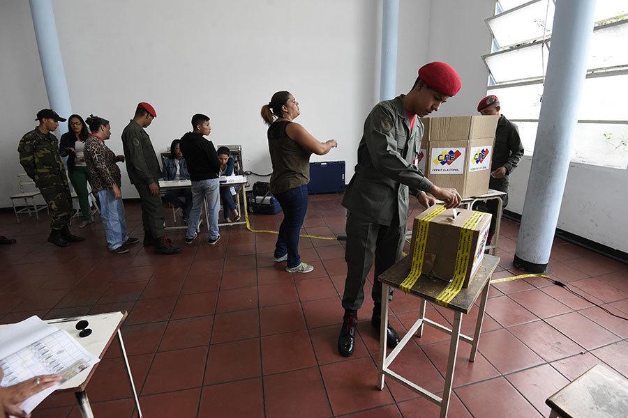 馬杜羅委國大選舞弊聲中連任 歐美拒承認